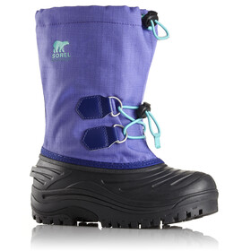 Sorel Kids Super Trooper Boots Purple Arrow/Reef